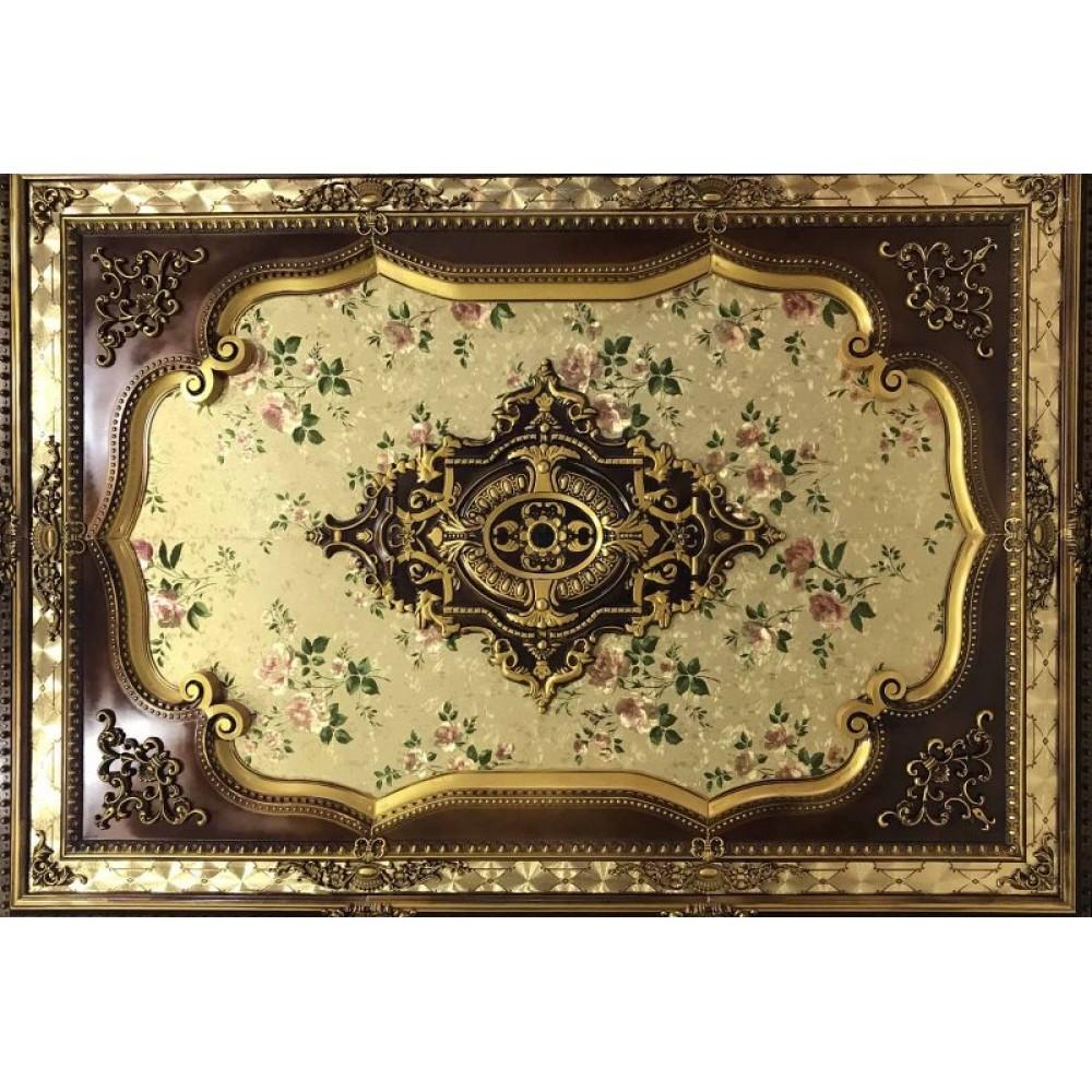 140x200 Cm Dikdortgen Osmanli Saray Tavan Sf-587 Avize Gobegi