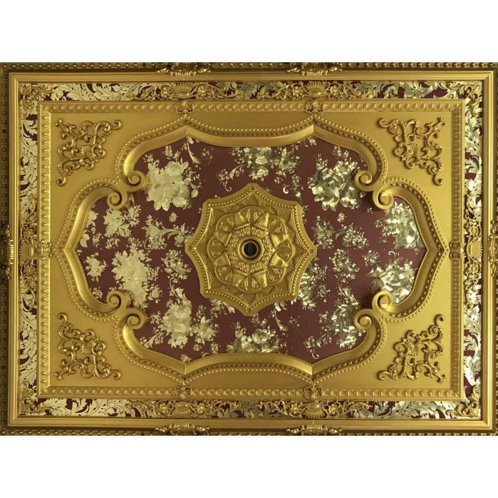 120x160 cm Dikdortgen Osmanli Saray Tavan S-578