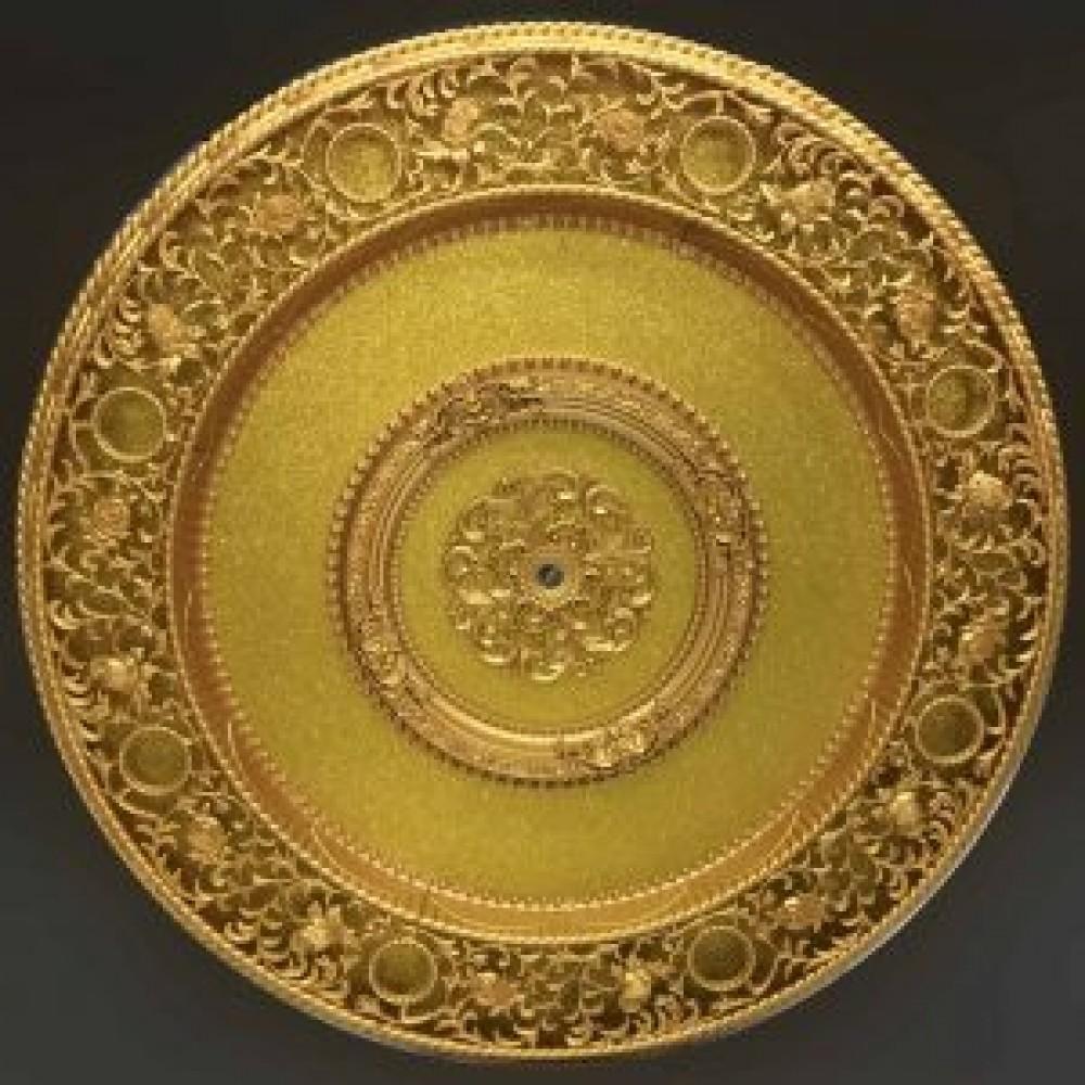 140 Cm Yuvarlak Osmanli Saray Tavan Sf-598 Avize Gobegi