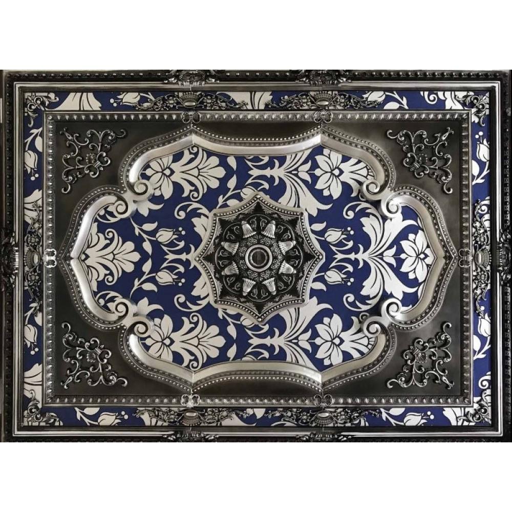120x160 Cm  Dikdortgen Osmanli Saray Tavan Sfa-585 Avize Gobegi