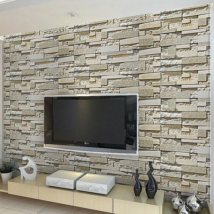 design : steintapete grau wohnzimmer ~ inspirierende bilder von ...
